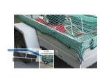 Container-Netz 2,5x3,5m m.Gummieinzug MW45x45x3mm f.Anhänger 1,50x3,00M