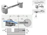 Arbeitsplattenverbinder AVB 4 verzinkt Länge =  61 mm 9079575