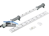 Achsrohr für LeMans II 600-750 mm 1 Tablarset (2 Tablare) weiss 9132546