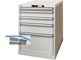 Lista Schubladenschrank H/B/T 800x564x725mm, 5 Laden