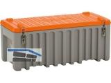 PE-Werkzeug-Box 250 Liter, grau/orange Premium Nr.3030.7027, Polyethylen