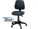 Bürodrehstuhl mit halbhoher Rückenlehne Bezug anthrazit