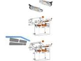 Aventos HF Kraftspeicher LF 2600- 5750 Servo-Drive-komp. 20F2200.05   900.768.2