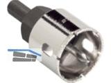 Profi Diamantbohrkrone DM 27 mm mit Hartmetall-Zentrierbohrer K26.200.01