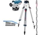 Baunivellier-Set Bosch GOL 26D Profes. inkl. Stativ BT160 u. Messlatte GR500
