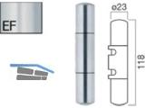 Aufsteck-Zierhülse AH320TO-KU-SK-EF mit Segmentkopf Edelstahlfinish