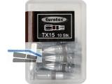 Biteinsatz 1/4\ TX15 x 25 mm kupferbraun farbcodiert/Form E 6,3 Nr.945852 (VPE10)