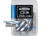 Biteinsatz 1/4\ TX25 x 25 mm blau farbcodiert/Form E 6,3 Nr.945854 (VPE10)