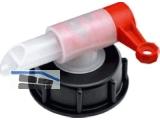 Ablasshahn Kunststoff Soax für 25 l und 60 l  Kunststoff-Fässer 497300