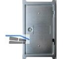 Kamintür m.4kt.Verschluss ÖNORM gasdicht LW150x300 AM230x380 Stahlblech verzinkt