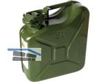 Benzinkanister Blech 5L 24,7x10,6x27,5