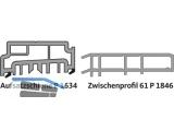 Aufsatzschiene thermostep GU Gr. 20 EV1 K-18086-20-0-1