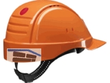 Bauschutzhelm mit UV-Indikator 3 M orang G3000  Ratschenverschluss