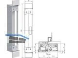 Aufnahmeelement Tectus TE 340 3D SZ/1 verzinkt