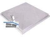 Schachtabdeckung ohne Entlüftung Mauerlichte 600 x 600