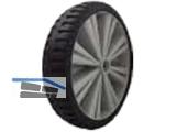 Schiebetruhen Ersatz Rad PVC STAR RF 4.00-8 FLEX LITE mit Achse 100x14 NEU