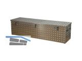 Transportkisten aus Alu-Riffelblech 470L L/B/H 1896x525x520mm Gasdruckdämpfer