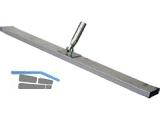 Alu Betonschieber 100 x 10 x 2,5 cm mit Gelenk-Stielhalterung, ohne Stiel