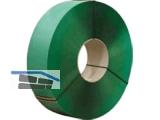 PET-Umreifungsband 15,5x0,9mm gep. Rolle zu 1200m grün, Kern 406mm 4900N
