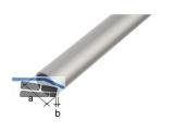 Rundrohr Aluminium DM= 6mm, L=1000mm eloxiert, Durchmesser  6x1,0mm, 473419