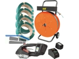 PP-/PET Handumreifungs-SET SMART LXT Akku  für Bandbreite 10,13 u.16mm