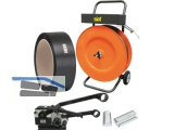 PP-/PET Handumreifungs-SET IMPA 16 für Bandbreite 15-16mm