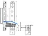 Abdeckwinkel VX 7560 RR zu Aufnahmeelement Edelstahl