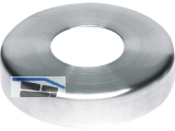 Abdeckrosette Ø 105 mm Höhe 22,5 mm für Rohr 42,4 x 2 mm Edelstahl