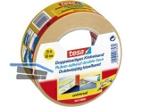 Doppelklebeband Tesa universal 50 mm x 25 m weiss 56172-03