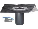 Aufstockeinheit inkl.Dichtring und Gleitmittel 110-160mm WD DN 125