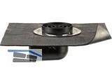 Balkongully Typ A abgewinkelte Ausführung einschl.Kleinkiesfang DN50