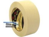 Abdeckklebeband 3M2321 mittel (neu 201E) Gummiharz beige 18mmx50m (VE 48)