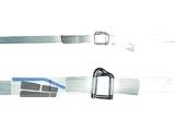 Verpackungs-Compositband weiß 13mm/1100m extrudiert Kern 200, 3400N (12,5mm)