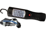 Akku Handleuchte 28 LED (ca. 40W) inkl.NI-MH Akku + Ladestation