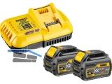 Akku-Starter-Kit Dewalt DCB118T2 54/18 Volt Schnellladegerät