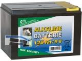 Alkaline-Batterie 120Ah, kleines Gehäuse 44228