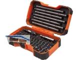 Bit-Satz Bahco 54-tlg mit Farbmarkierung 25 und 125 mm Bits und Zubehör