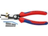 Abisolierzange StriX Knipex 180 mm schwarz atramentiert