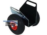 Plattenklemmwagen 0-70 Schwaiger mit Lufträder, Tragkraft 250 kg