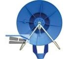 Corral Weidezaun Breitbandhaspel mit Trage komplett Blau