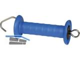 Corral Weidezaun Torgriff mit Hacken  blau