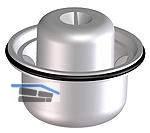 HL080.5E Geruchsverschlusseinsatz komplett