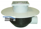 HL64BP/7 Dachabl. DN75 waagr, PVC-Kragen begehbar