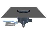 HL540-Quadra PRIMUS-DRAIN Duschablauf mit Einlaufrost Quadra