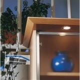 Glasrahmenprofil schmal, Länge 2500 per Stange, Aluminium natur eloxiert
