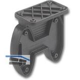 Befestigungsteil C 1, 52x100x102 mm, Kunststoff schwarz