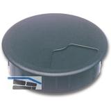 SECOTEC Kabeldurchgang rund 60 mm 3-teilig schwarz SB-1 BL5