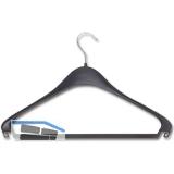 Kleiderbügel Sopdu starr, mit Hosensteg und 2 Rockhackerl, Kunststoff schwarz