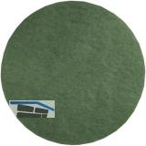 Polierpad grün D=400 mm