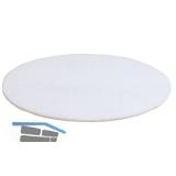 Polierpad weiß D=400 mm